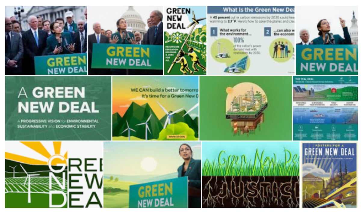 Green New Deal Images