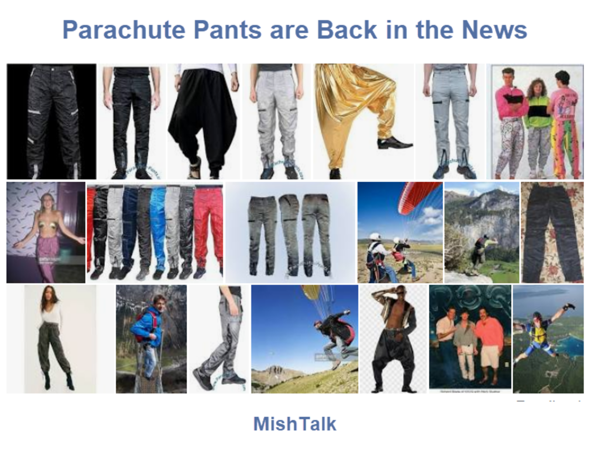 Parachute Pants are Back in the News