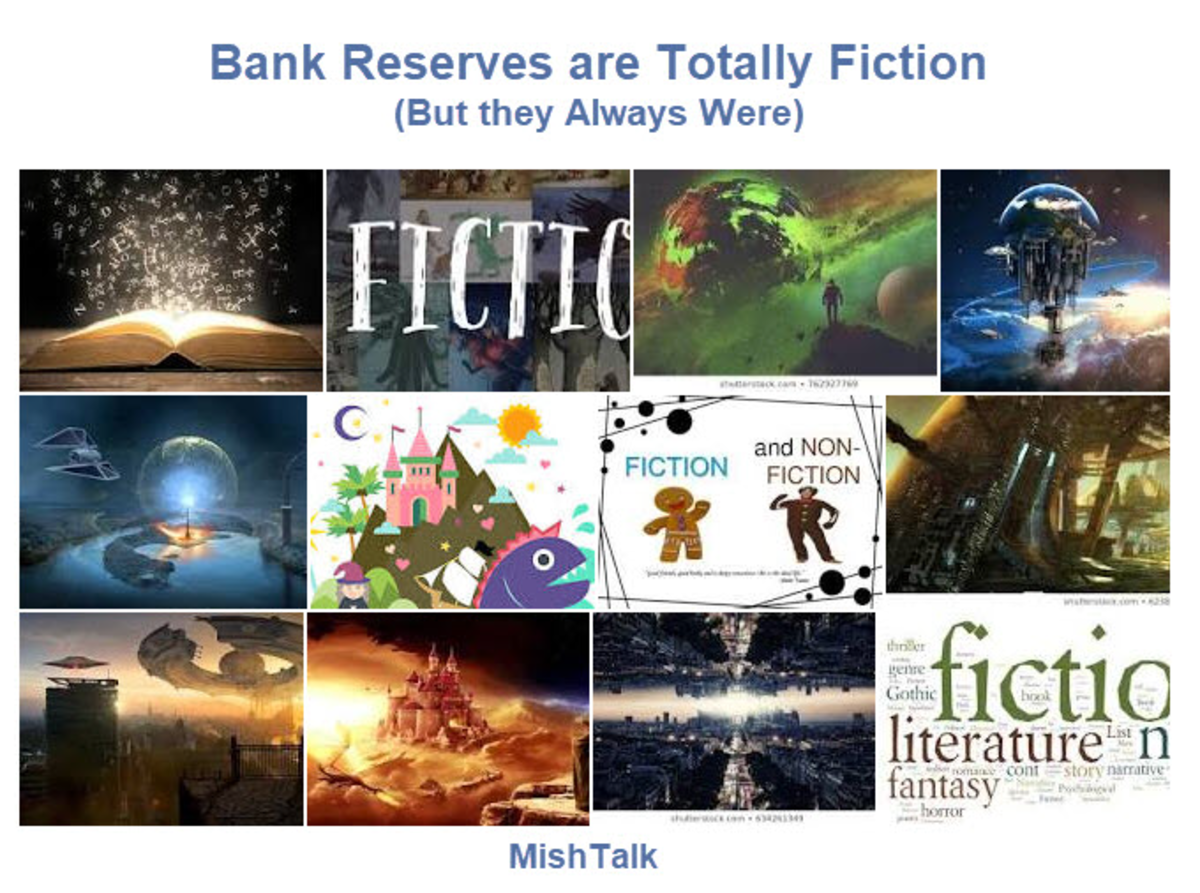 Bank Reserves are Totally Fiction