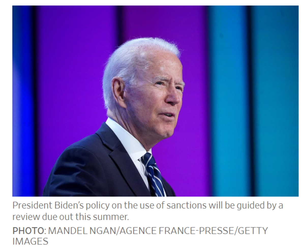 President Biden's Policy on Sanctions