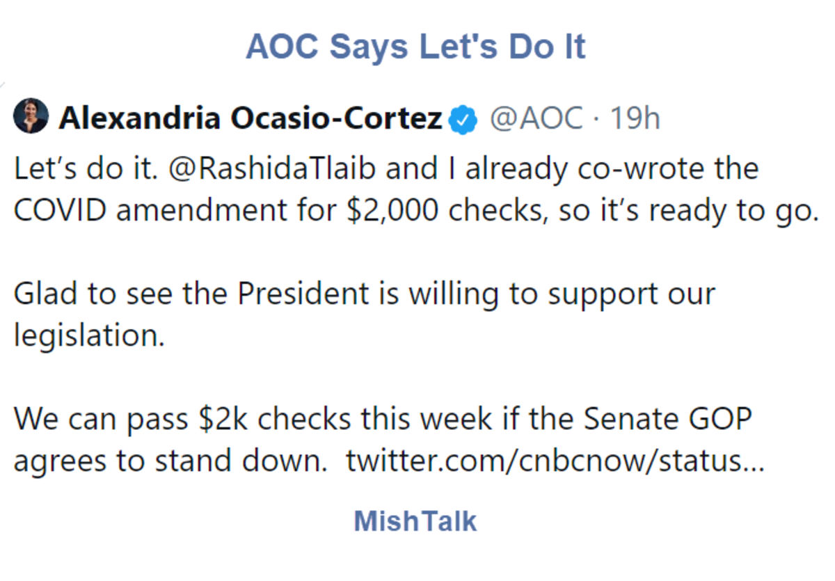 AOC Says Let's Do It