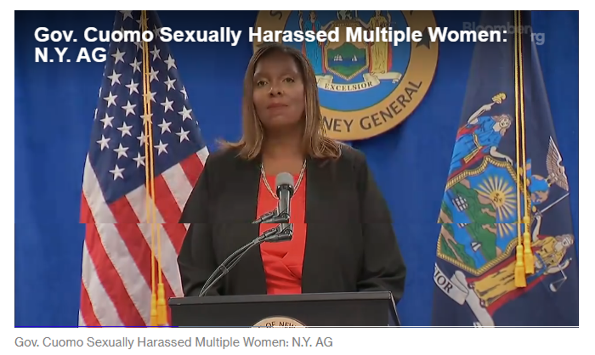 Cuomo Sexually Harassed